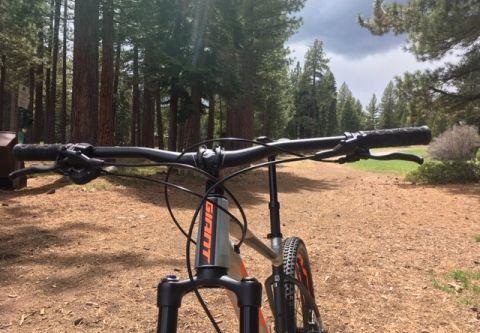 Tahoe Cross Country Center, Mountain Biking