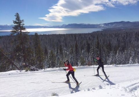 Tahoe Cross Country Center, Cross Country Skiing
