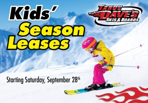 Tahoe Dave's, Kid's Season Leases