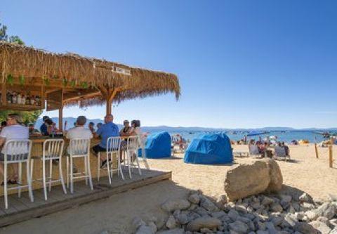 Tahoe Beach Retreat & Lodge, Tasty Cocktails & Tahoe Views at the Tiki Bar