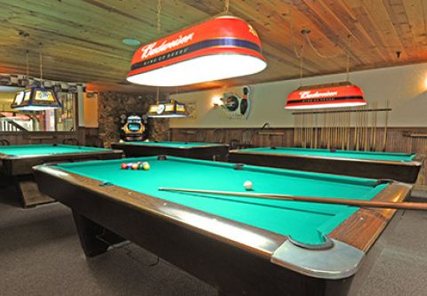 Bowl Incline, Billiards