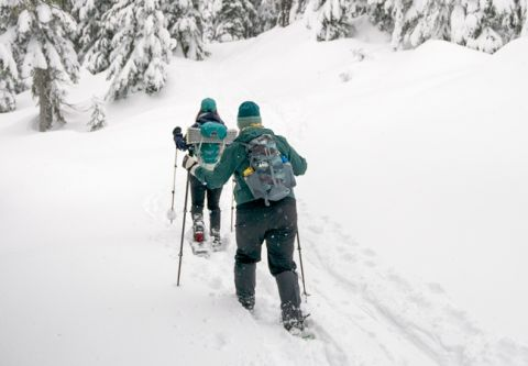 Tahoe Cross Country Center, Snowshoeing