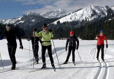 """Tahoe Donner Cross Country Ski Area, 2 for 1 """"Learn to Ski Month"""" Private Lesson Package"""