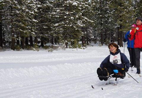 Tahoe Donner Cross Country Ski Area, Adaptive Skiers