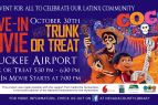Truckee Tahoe Airport, Drive in Movie and Truck or Treat