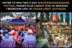 Tahoe.com, WinterWonderGrass Festival Passes + Stay @ Cedar Crest Cottage