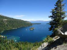 Overlooking Emerald Bay, Lake Tahoe