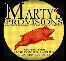 Marty S Cafe Truckee Menu