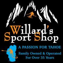 Willard's Sport Shop Tahoe City & Lakeshore Sports Kings Beach