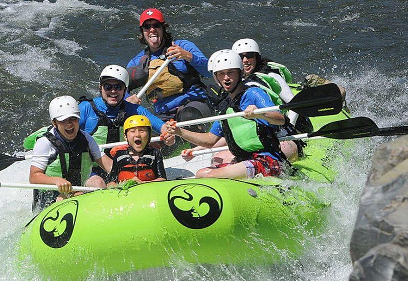 Raft California Tours