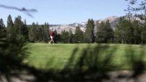 Golfing at Lake Tahoe